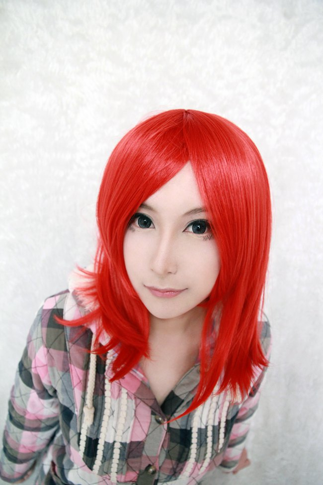 Wigs Red Discount 35