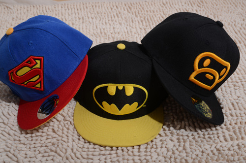 Retail new 2015 children baby boys girls superman baseball cap spring summer sport caps sunbonnet 1-3 year free shipping 6393(China (Mainland))
