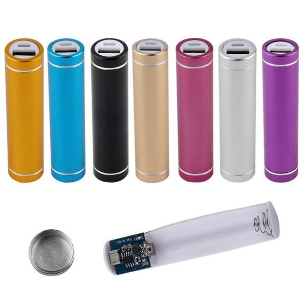 Многоцветный новый USB 5 В 1A зарядное устройство костюм 18650 аккумулятор внешняя DIY Kit чехол Box за универсальный сотовые телефоны бесплатно сварки мода
