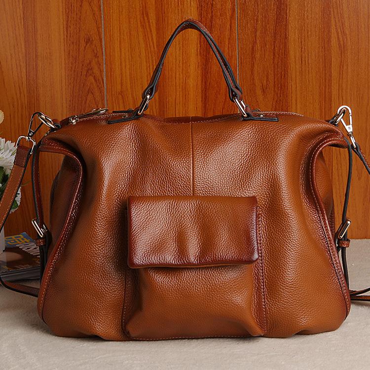 luxury handbags women Original leather C women handbag Top grade Genuine smooth calfskin leather phantom trapeze bags(China (Mainland))