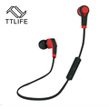 TTLIFE Brand Hot Bluetooth Earphone Wireless Earphone Bluetooth Sport Running Stereo Music Earbuds With Microphone Auriculares