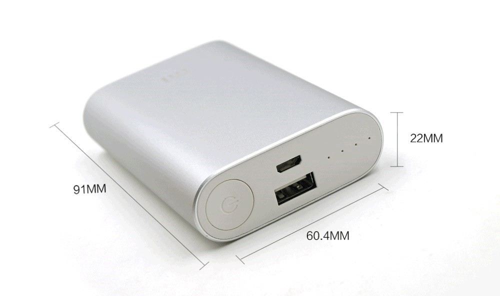 2015 NEW 100% Original Xiaomi Power Bank 10000mAh External Battery  xiaomi 10000 Portable Charger for iPhone 4S 5S S5 6 6plus