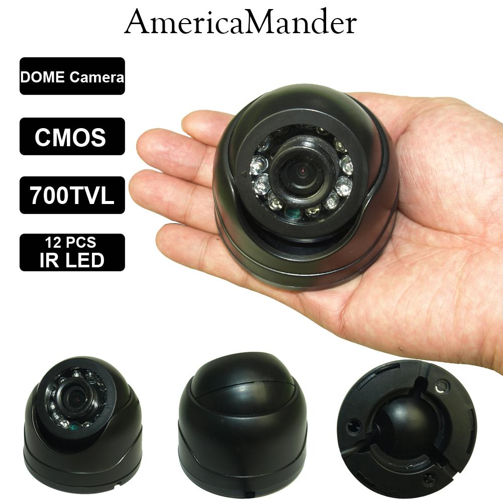 "1/3"" CMOS Real MINI 700TVL High Resolution IR Indoor Dome Lens For Camera CCTV Camera Lens IRC CCTV Camera Lenses Free Shipping(China (Mainland))"