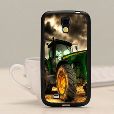 Cool john deere black hard skin mobile phone cases cover housing for samsung note2 note3 note4 S3 s4 s5 with free gifts(China (Mainland))