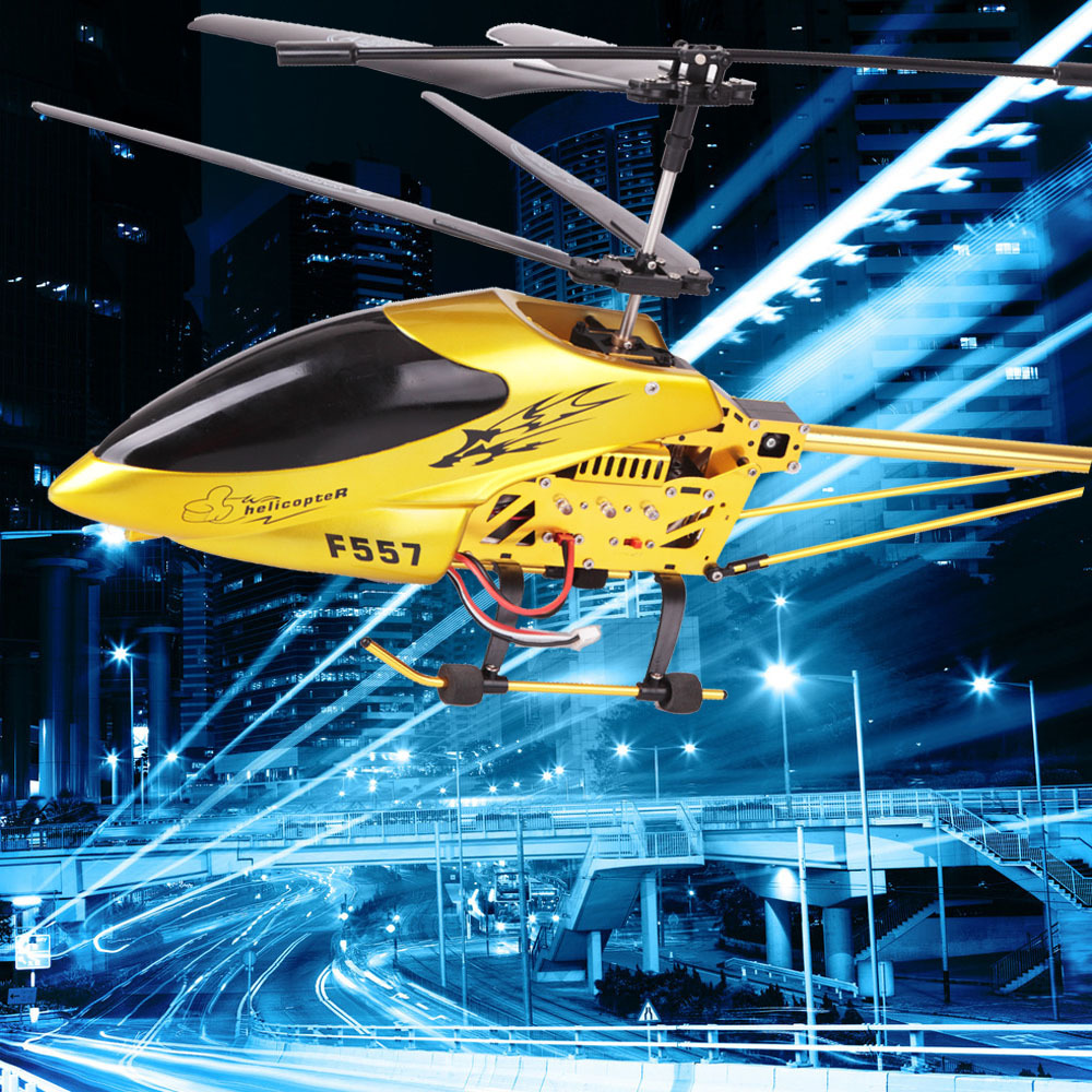 Free Shipping Super Big RC Helicopter 3.5CH Built-In Gyro SF557A F557A Remote Control RC Helikopter Total Length 73CM(China (Mainland))