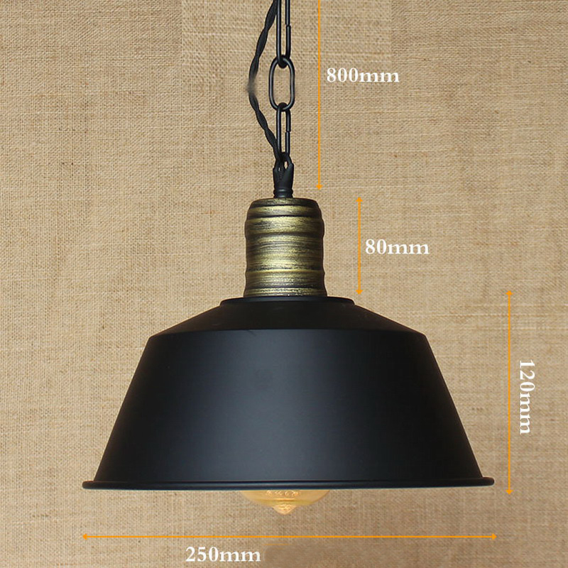 Illuminating Kitchen Lighting: Retro Metal Shade Pendant Lamps Illumination Kitchen Bar