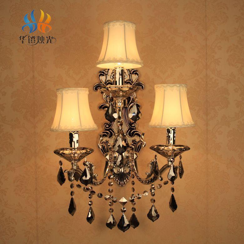 Slaapkamer Wandlamp : Woonkamer slaapkamer wandlamp kristal grote muur ...