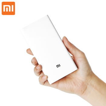 Original Xiaomi Power Bank 20000mAh 2 Portable Charger Dual USB Mi External Battery Bank 20000 for Mobile Phones and Tablets