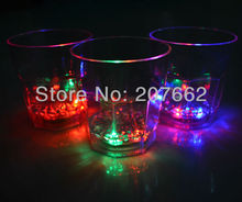Buy Free 12pcs/lot 260ML color changing flashing beer mug led cup Dinner LED Light Cup Plastic Ware Party for $69.32 in AliExpress store