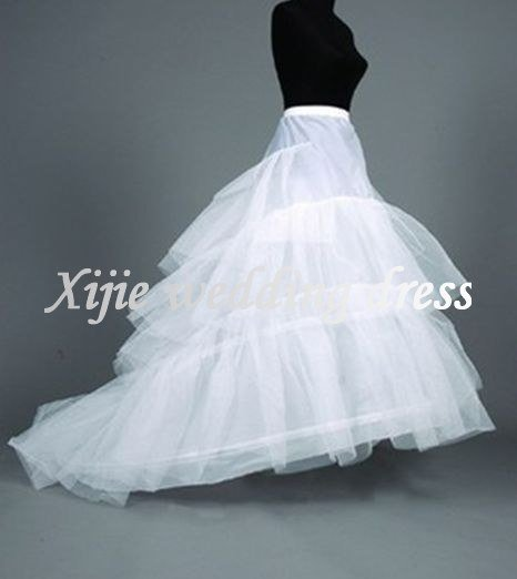 Wedding accessories   Bridal Wedding Petticoats(PT-07) Custom made