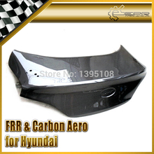 New Car Styling For Hyundai Coupe Rohens Genesis 2009 OEM Carbon Fiber Trunk Boot Lid(China (Mainland))