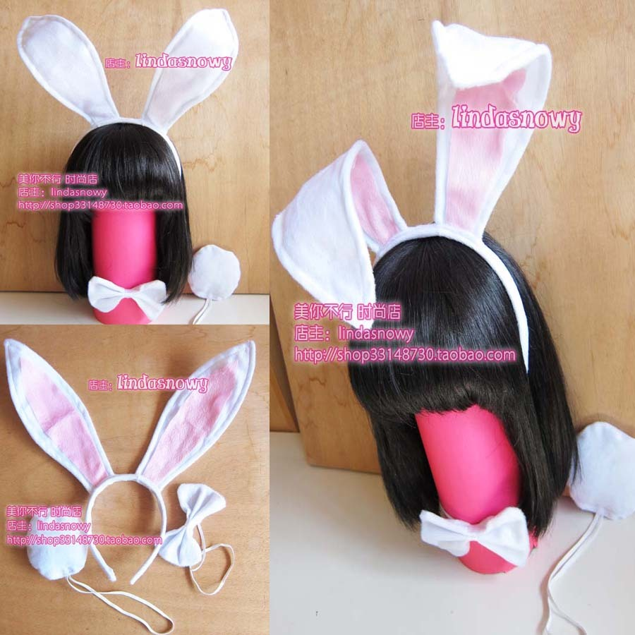 Cos props animal piece set hair accessory headband hair bands big ears