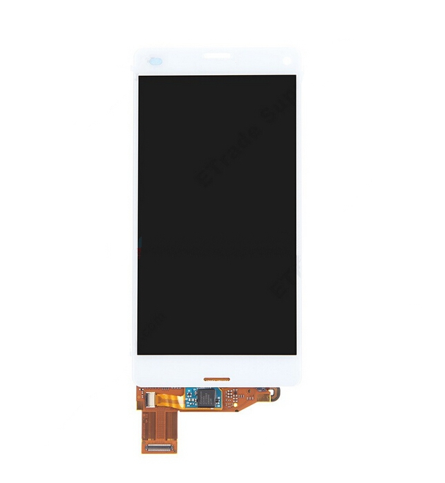 for Sony Xperia Z3 Compact LCD Screen and Digitizer Assembly - Black white(Hong Kong)