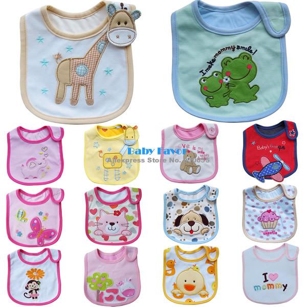 Free Shipping 1pc Baby Boy Girl Kids Newborn Children Toddler Infant Carter's Bibs Waterproof Saliva Towel Scarves Feeding Apron(China (Mainland))