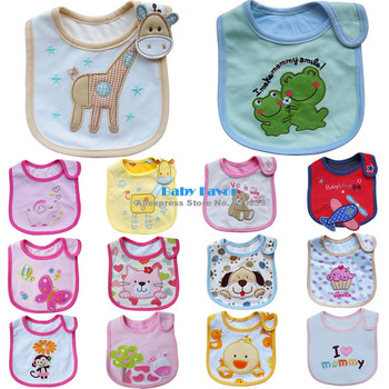 Free Shipping 1pc Baby Boy Girl Kids Newborn Children Toddler Infant Carter's Bibs Waterproof Saliva Towel Scarves Feeding Apron