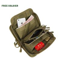 FREE SOLDIER Card & id holders phone cases brand Wallet Dupont Teflon fabric YKK Zipper Handybag(China (Mainland))