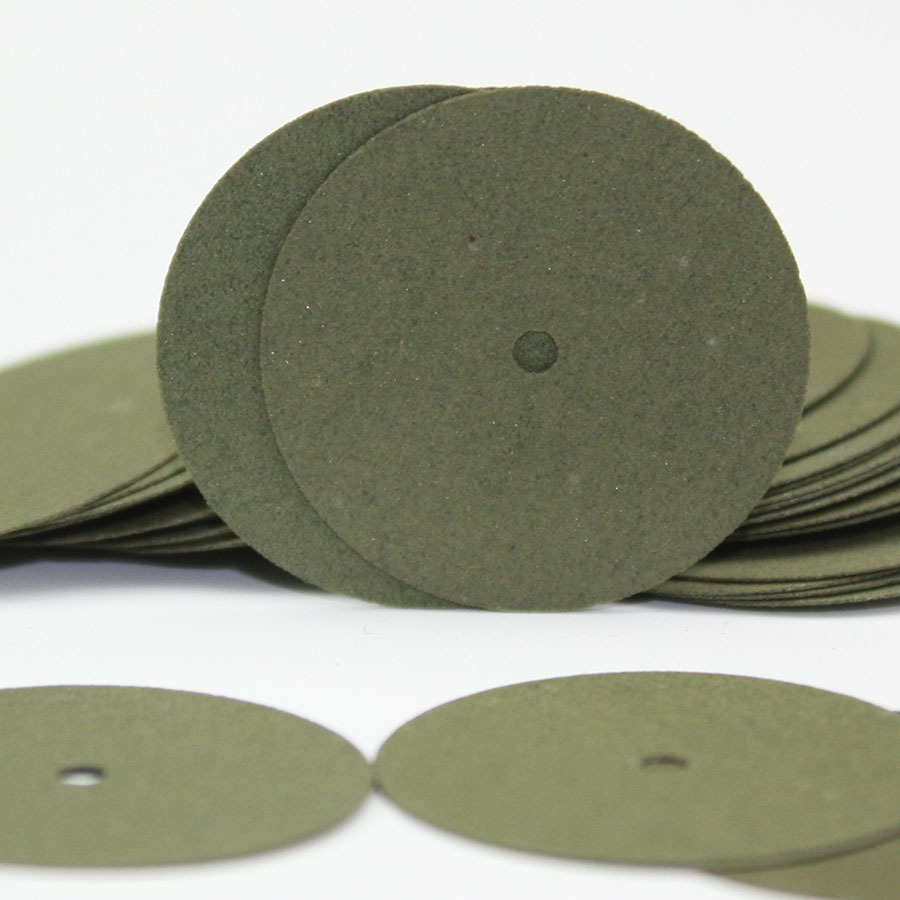 100 PCS Green Resin Sand Piece Seperating Discs Dental Grinding Polishing Discs Dentist Product Global Free Shipping(China (Mainland))
