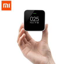 Buy 2016 Original Xiaomi Smart PM2.5 Air Detector Portable OLED screen Wifi 2.4GHZ Use Air Purifier Air Monitoring for $58.08 in AliExpress store