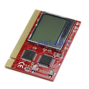 J34 Free Shipping LCD PCI PC Computer Analyzer Tester Diagnostic Card(China (Mainland))