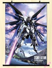 "Home Decor Japanese Anime Wall Scroll Gundam Seed 24""*35"" cosplay custom-made"
