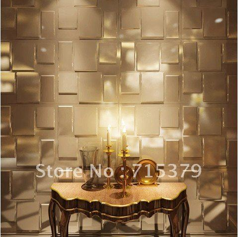 2012 new design 3d wall panel diy decoration embossed in for Decoration cost per m2