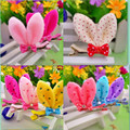 Hot Sale Girl Baby Hair Clips Kawaii Rabbit Ear Hair Clip Cute Hairpins Fashion Kids Clips
