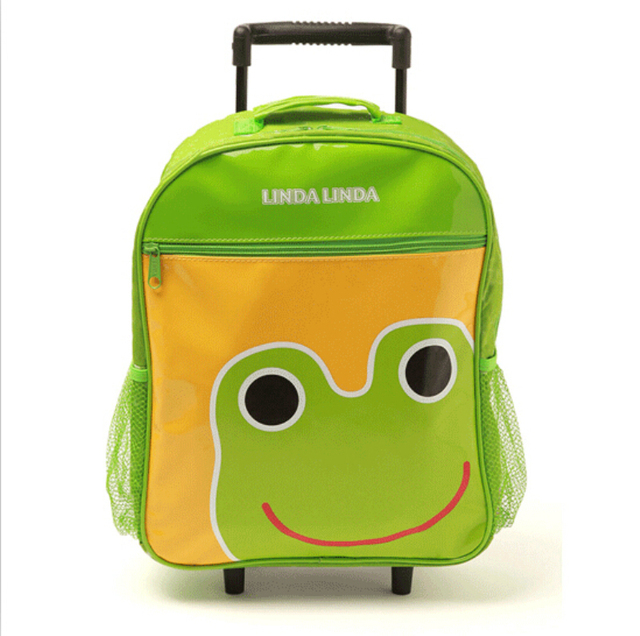 Дети тележки мешок школы мультфильм для детей чемодан на колесах каваи животных дорожная ...