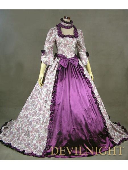 Узоры на бальных платьях
