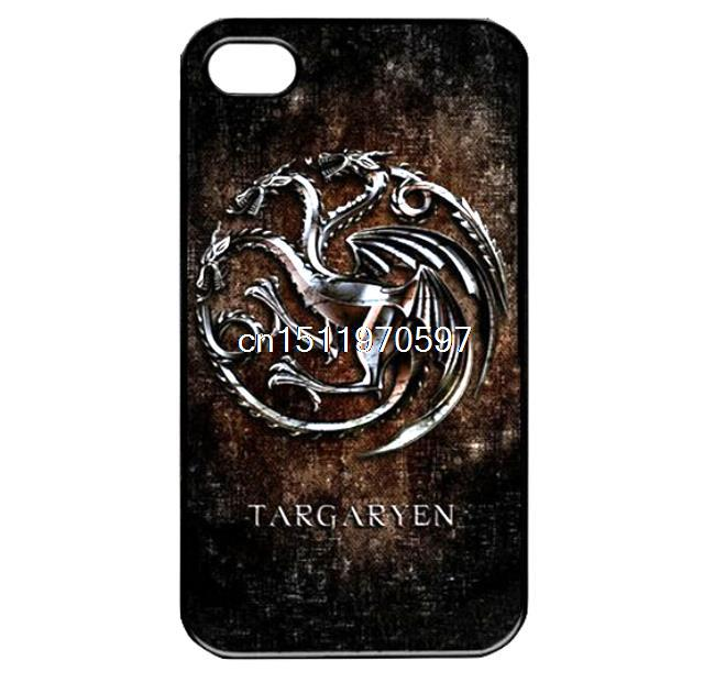 Vintage Game of Thrones Show Newest Shockproof Custom Printed Hard Plastic Mobile Protector Case Cover For Iphone 4 4S 5 5S 5C 6(China (Mainland))