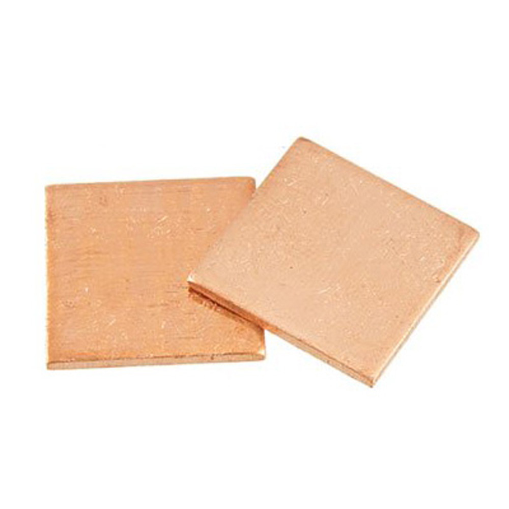 2015 hot free shipping New 2 Pcs 1.2mm Thick Heatsink Thermal Pad Copper Shim for Laptop CPU GPU,IN STOCK(China (Mainland))