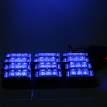 Blue 4x9 Led Strobe Lights 12V Emergency Vehicle Warning Police Light Grill Bar For Cars Boat