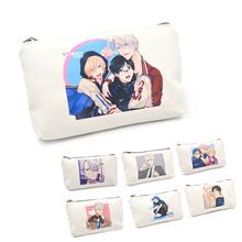 1pcs Yuri!!! on Ice wallet mini Pen Pencil Bag Pencil Pen Bag Make Up Gift Pendant School Supplies(China (Mainland))