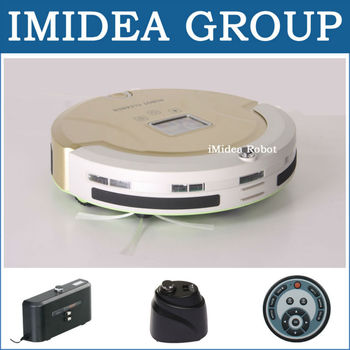 5 In 1 Multifunctional Robot Vacuum Cleaner (Vacuum,Sweep,Sterilize,Mop,HEPA Filter) Touch,Schedule,2 Virtual Wall,Self Charge