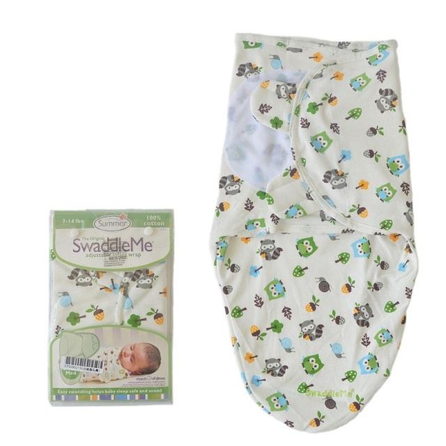Ребенка Пеленать Обертывание летом тонкий конверты для новорожденных Детское Одеяло ...