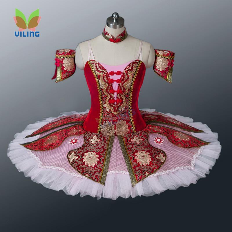Red Ballet Tutu Adults