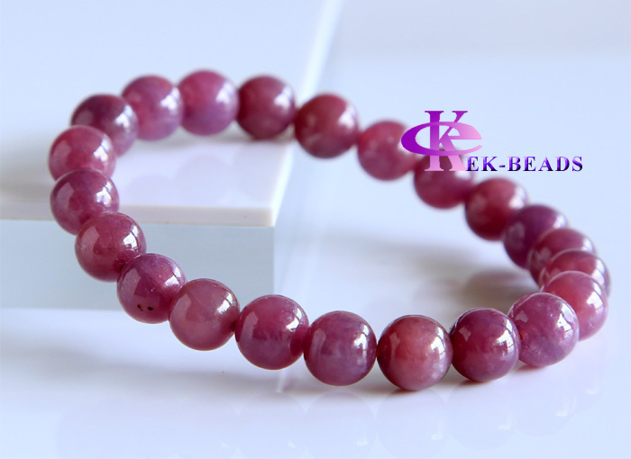 Free Shipping Discount Wholesale Natural Genuine Red Ruby Bracelet Smooth Round beads Finished Stretch Bracelets 8.5mm 02825<br><br>Aliexpress