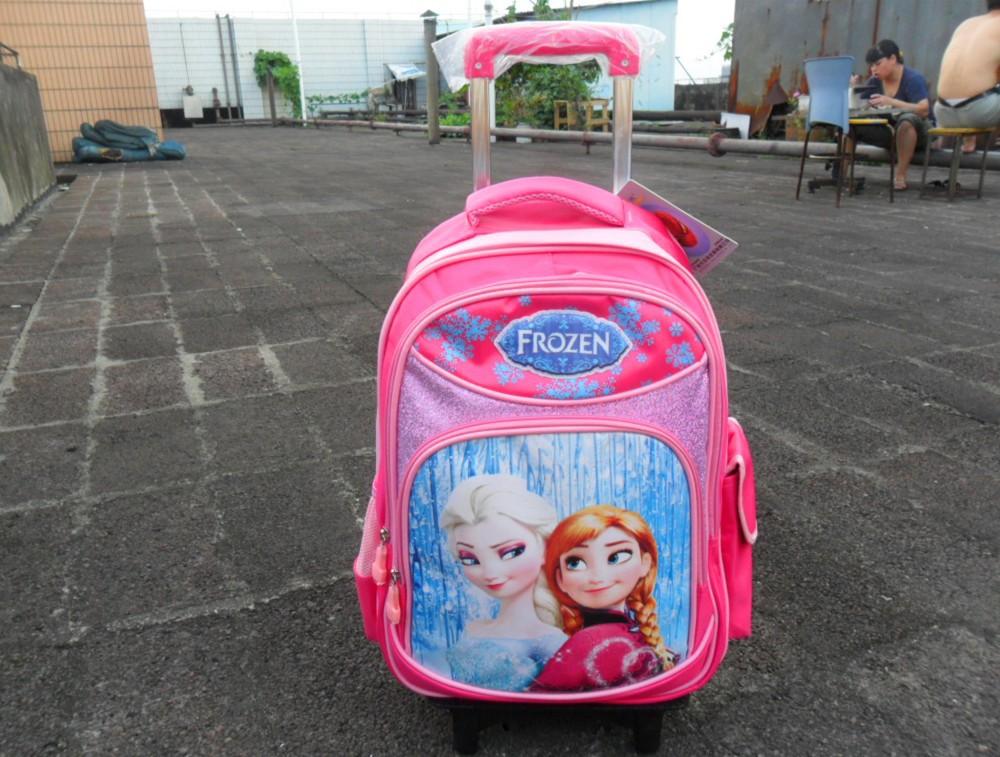 Frozen Trolley Schoolbags Girls Backpack kids Travel bags - fashion children's swimwear clothing store