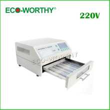 EU Stock T962 Digital Infrared IC Heater AC 220V Reflow Oven SMD Solder BGA Area 180*235mm 800W Rework Sation Reflow Wave Oven(China (Mainland))