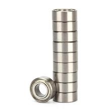 10pcs set Bearing Steel MR105ZZ 5 10 4mm Miniature Bearings Ball Mini Bearing for Printer Accessory