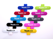 1PCS Mobile Phone Smartphone Touch U Type Silicone Stand Holder for iPhone 4 5 5S 5C 6 PLUS for Samsung galaxy s3 s4 s5 s6