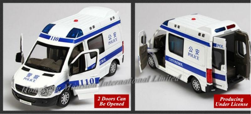 132 Police Ambulance Car Model For Benz Sprinter (7)