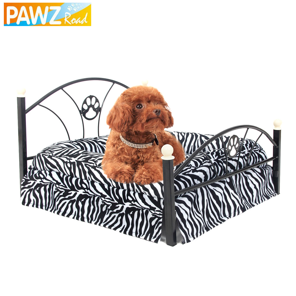 Free Shipping Luxury Pet Bed for More Soft Experiences Puppy Dog Cat Kennel with Metal Frame Pet Supplies Fast Delivery(China (Mainland))