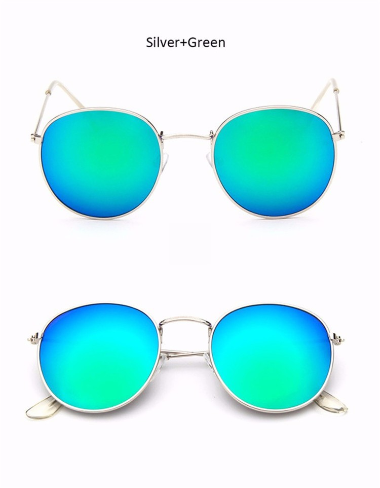 Luxury Vintage Round Sunglasses Women Brand Designer Female Sunglass Points Sun Glasses For Women Lady Sunglass Mirror 2017 Rays (14)