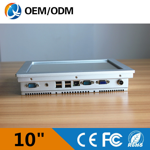 """Silver 10"""" industrial mini pc embedded panel pc Atom N2600 800x600(China (Mainland))"""