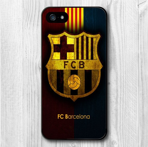 Football Barcelona Sport Fans Protective Cover Case For iPhone 4g 5g 5C 6g 6 Plus(China (Mainland))