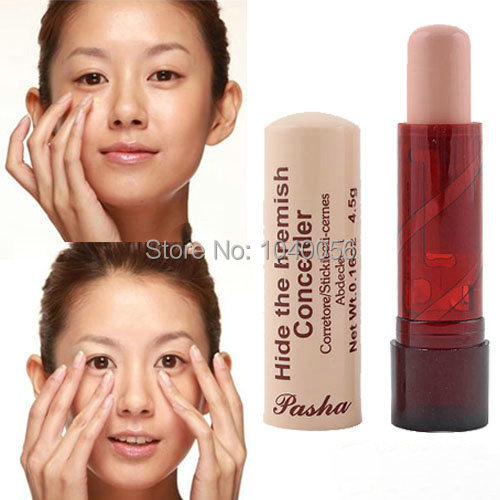 Promotions!The best France Pasha Concealer Makeup Face Eye Lip Concealer Cream Beauty Care The Blemish Creamy Concealer Stick(China (Mainland))