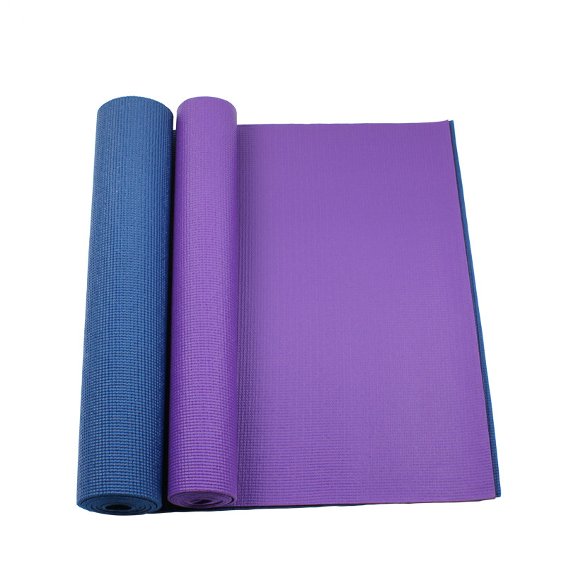Free shipping Yoga Mat Thick Fitness non-slip yoga mat Fitness blanket Sport mats Cheap export quality(China (Mainland))