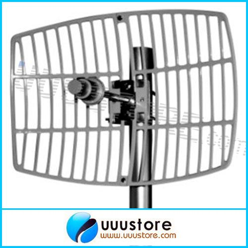 5.8GHz 24dBi Wireless LAN Systems Grid Long Distance Directional Parabolic FPV Antenna(China (Mainland))