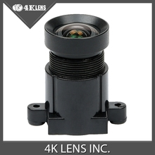 4K LENS 4.35MM Lens 1/2.3 Inch 10MP IR 72D HFOV NON Distortion for Gopro Xiaomi Yi SJCAM Camera DJI Phantom Drones