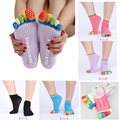 1Pair Toes Socks Newly Design High Quality Socks Finger 5 Toes Cotton Socks Exercise Sports Pilates